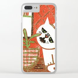 Bad Kit Clear iPhone Case