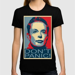 Elon Musk Musk Dont Panic T-shirt