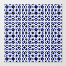 Azulejo, Geometric Pattern Canvas Print