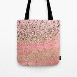 Pink Moroccan Princess Tote Bag