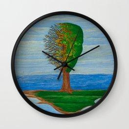 Island Wall Clock