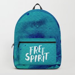 Free Spirit Blue Backpack