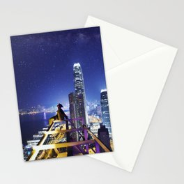 Closer to the stars Stationery Cards