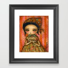 Cinderella's Way Out Of Misery Framed Art Print