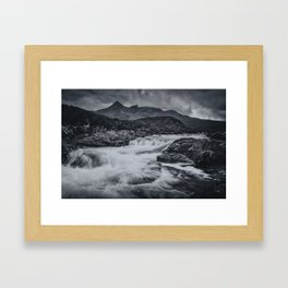 One Day in the Mountains II Framed Art Print