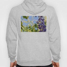Blooming purple acacia Hoody