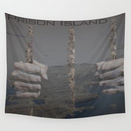 Prison Island Images Wall Tapestry