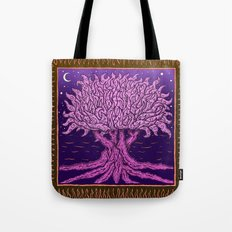 ombo pink tree of life Tote Bag
