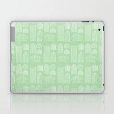 Birdcages (Green) Laptop & iPad Skin