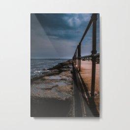 Seaside Serenity on Long Beach Island Metal Print