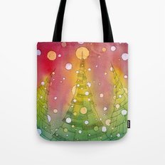 Christmas Trees Tote Bag