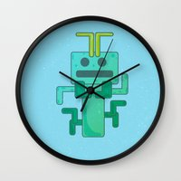 bug Wall Clocks featuring BUG by Annretro