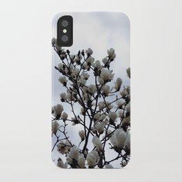 magnolia kobus iPhone Case