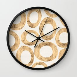 Large Circles (Ivory) Wall Clock