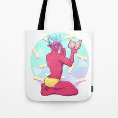Demon Pin-up Tote Bag