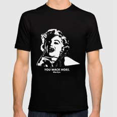 Marilyn Monroe. Rebel: $$$ Black MEDIUM Mens Fitted Tee