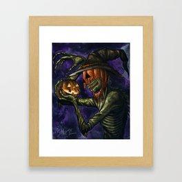 Hobnobbin' with a Goblin Framed Art Print