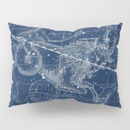 Capricorn sky star map Pillow Sham