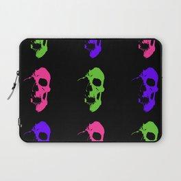 Skull 3x3 - Lime/Purple/Pink Laptop Sleeve
