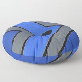 Fish - Blue Floor Pillow