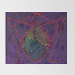 Sheela Araneae Throw Blanket