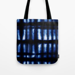 Shibori Folds Tote Bag