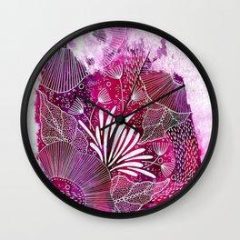 Pinky Pink Wall Clock