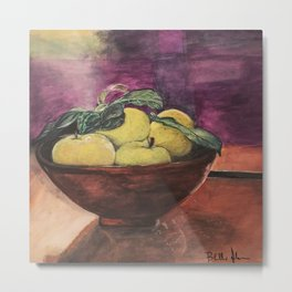 Bar Fruit Metal Print