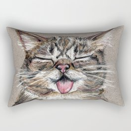 Cat *Lil Bub* Rectangular Pillow