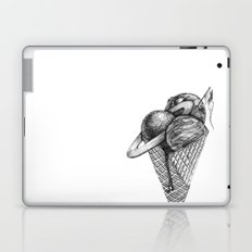 ice cream space invaded Laptop & iPad Skin