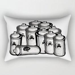 RAD and CANS Rectangular Pillow