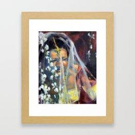 Sri Lankan Bride Framed Art Print