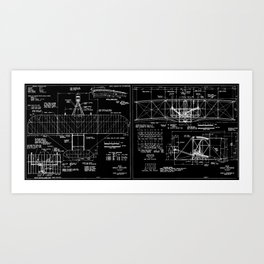 Wright Flyer Art Print