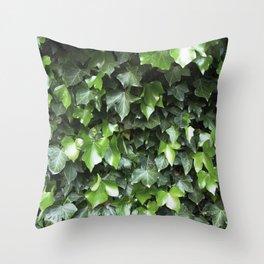 Evergreen Ivy Throw Pillow