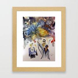 Buffering Fan-Art Framed Art Print