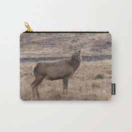 Wild Red deer in Scotland Carry-All Pouch