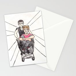 Shopping Cart Pynch Stationery Cards