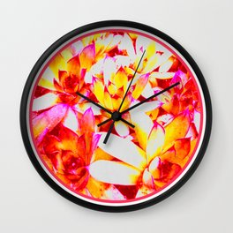 Sweet Succulents of the PNW Wall Clock