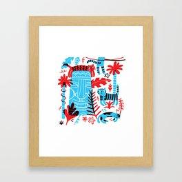 Tropicats Framed Art Print
