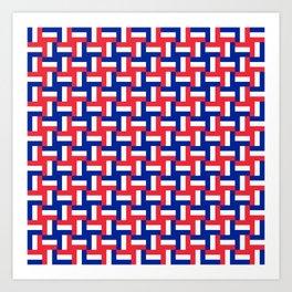 Configuration française #2 Art Print