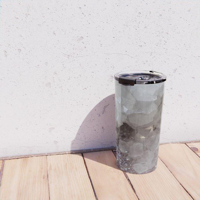 Silver & Quartz Crystal Travel Mug
