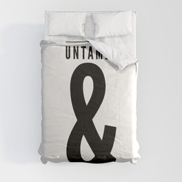 Uncaged, Untamed, Unguarded Comforters