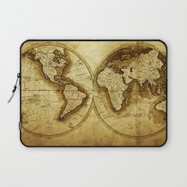 Antique Map of the World Laptop Sleeve