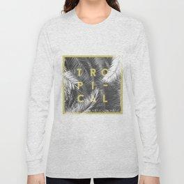 Tropical PalmTrees Long Sleeve T-shirt