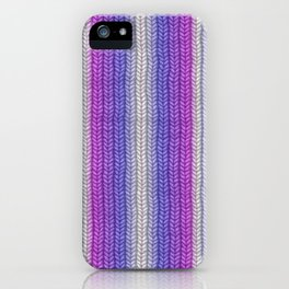 grannys knitting  iPhone Case