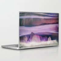 northern lights Laptop & iPad Skins featuring Northern Lights by SpaceFrogDesigns