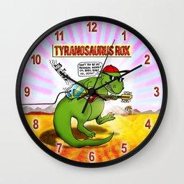 Jurassic Rock Wall Clock