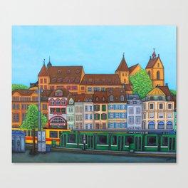 Barfüsserplatz Rendez-vous Canvas Print