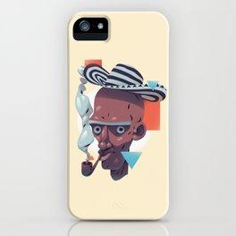 Humo y sabor iPhone Case