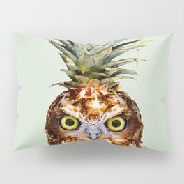 PINEAPPLE OWL Pillow Sham